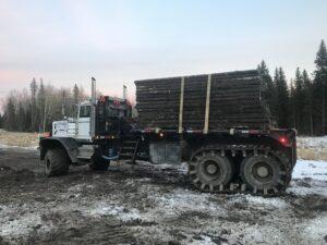 Transporting Access Matting