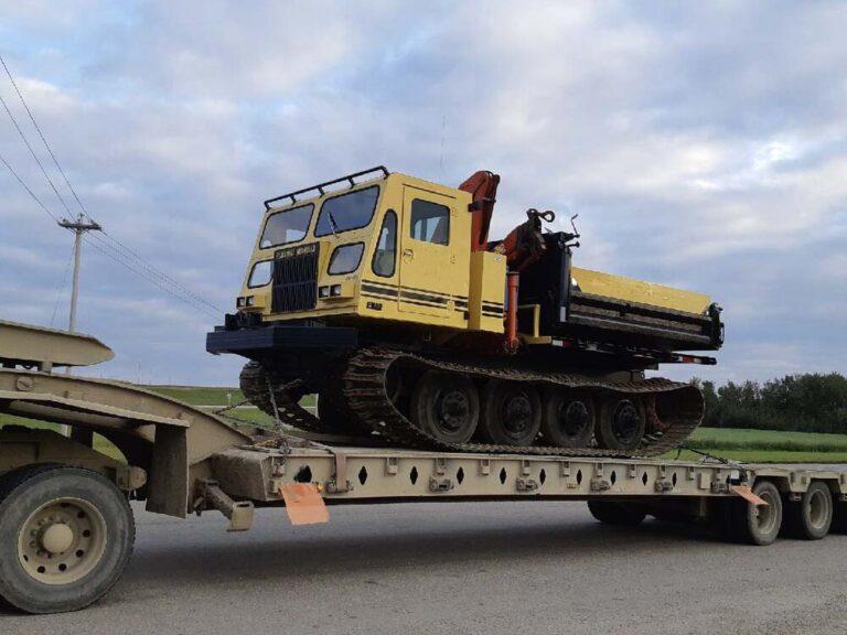 Danny Lizotte Transportation - Low bed transport