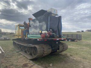 Firefighting equipment for wild land fires
